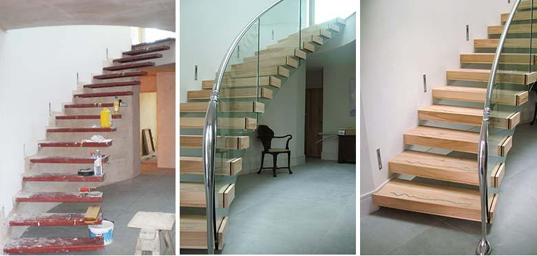 Cantilever Staircase Design | The Art Of Staircase - Canal