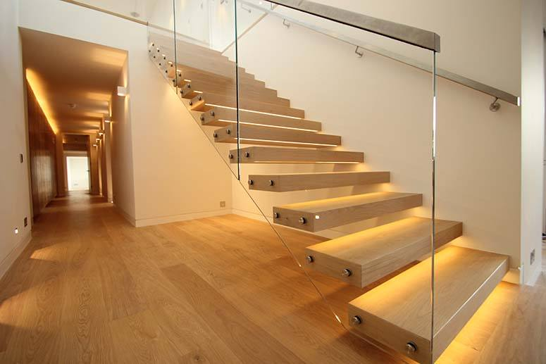 LED Lighting for Staircase